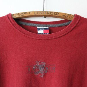 Vintage Tommy Hilfiger Red Tee Shirt